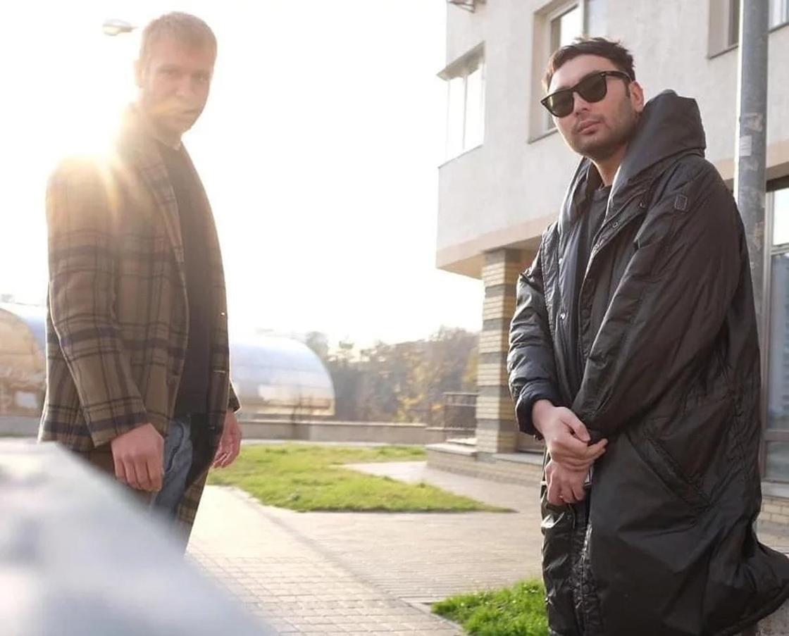 Иван Дорн и Галымжан Молданазар. Фото: Instagram
