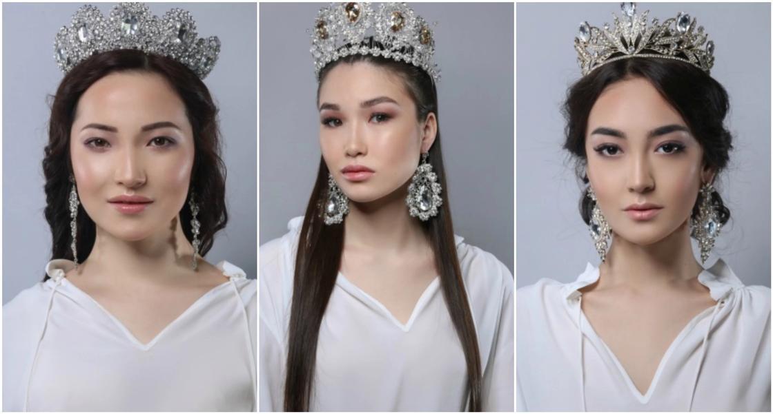 """Началось голосование за участниц конкурса красоты """"Мисс Казахстан"""""""