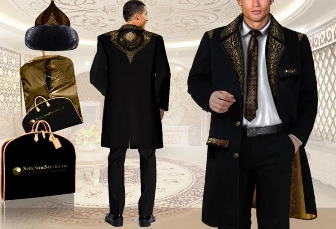 Дизайнер из Актау рассказала о чапане для Роналду (фото, видео)