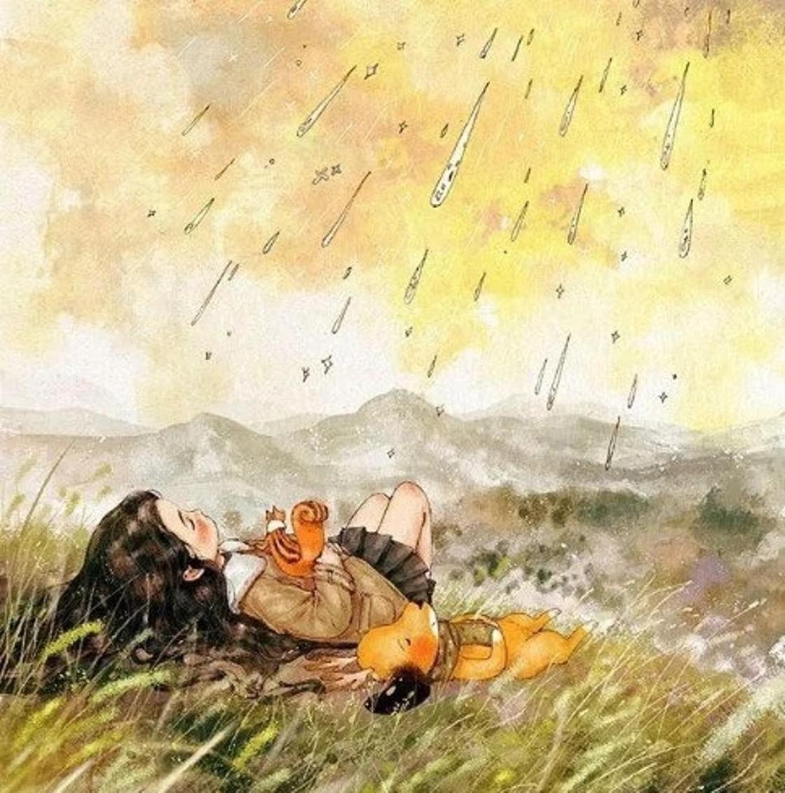 Жалғыздықтың бақытты сәттерін көрсеткен суретші жұрттың жүрегін елжіретті