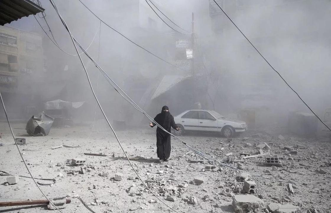 Семь лет войны в Сирии (18+)