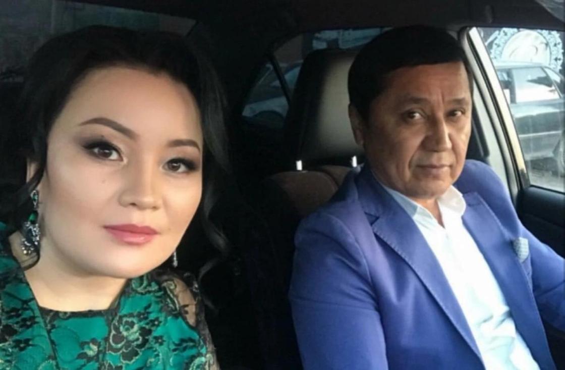Ергали Абдраимов с супругой. Фото: comode.kz