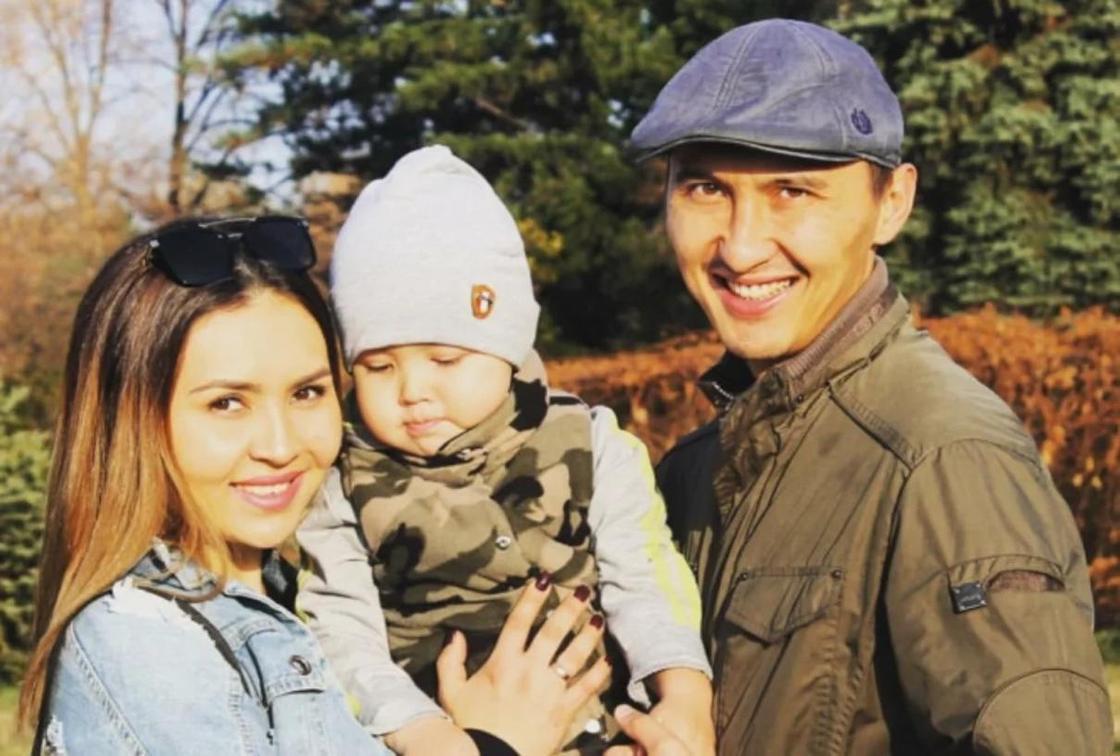 Шолпан Бейсенова с семьей. Фото: comode.kz