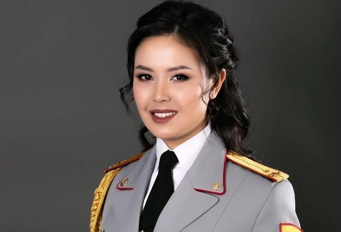 В МВД Казахстана выбрали самую красивую девушку в погонах (фото)