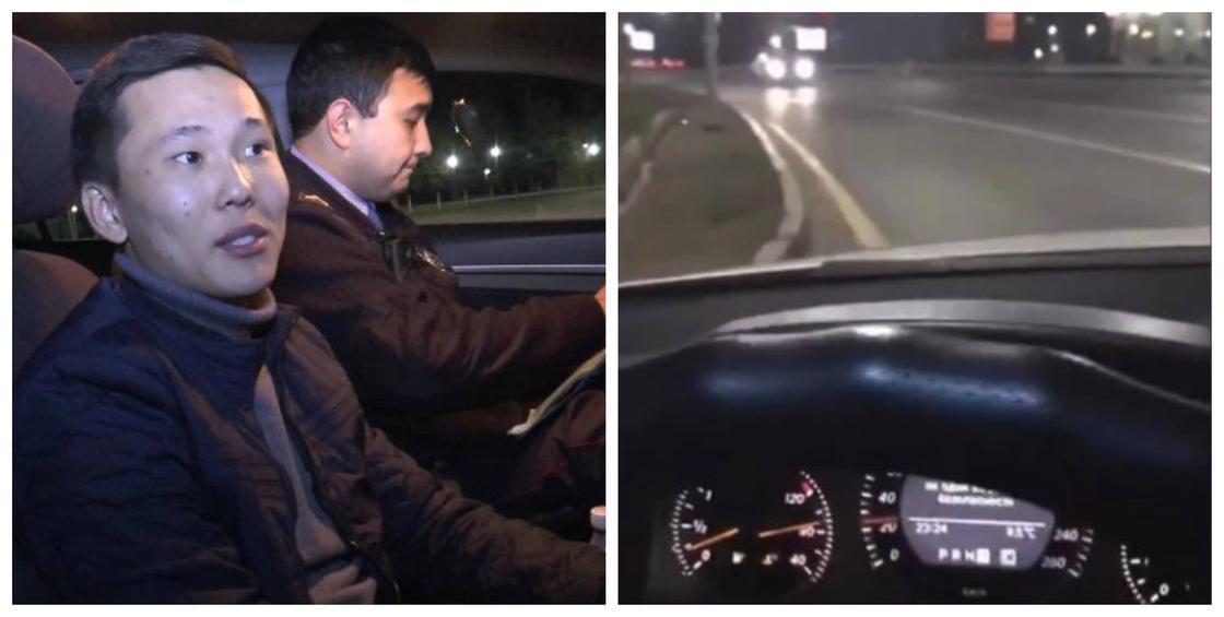 """Опасный челлендж в Instagram: еще один """"встречник"""" с Аль-Фараби выложил видео"""
