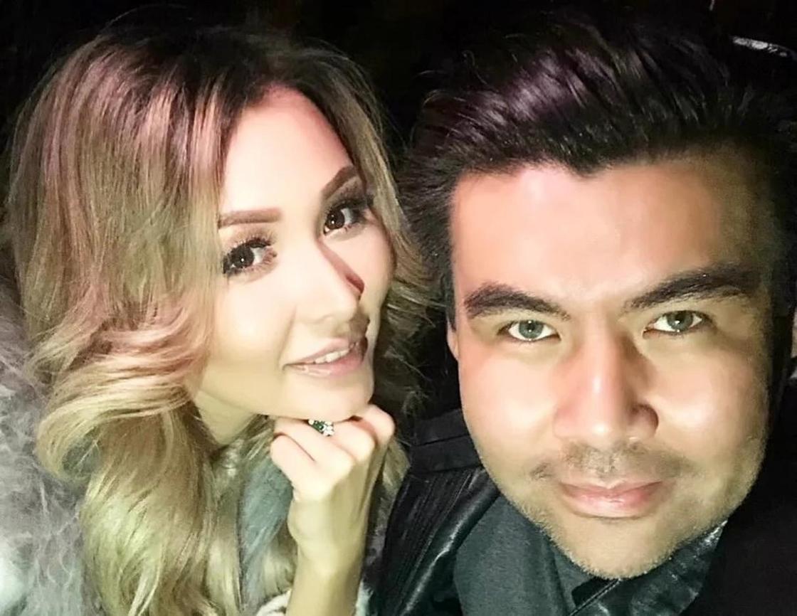 Диная и Ренат Гайсин. Фото: Instagram