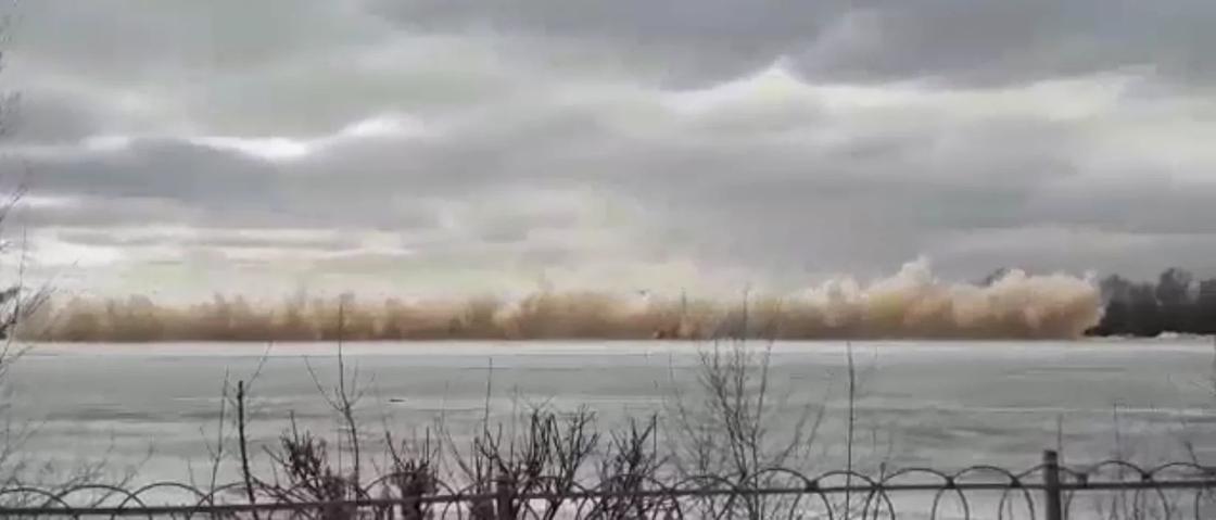 При взрыве на Иртыше к медикам обратились несколько человек