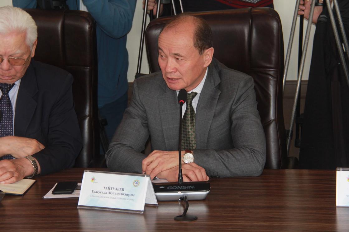 Член Общественного совета города Алматы Толеугали Тайтулеев