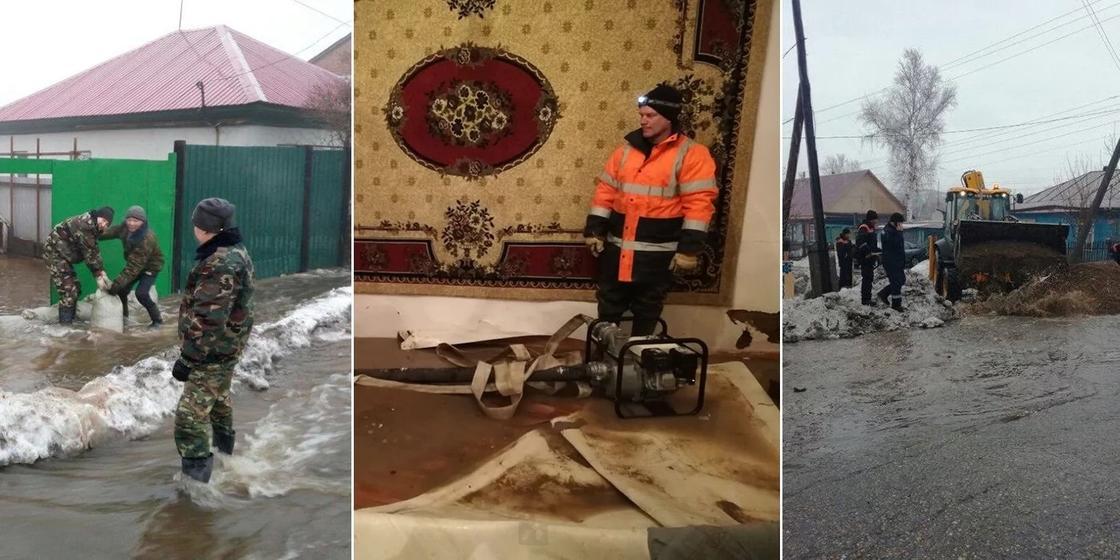 «Такого наводнения здесь не было полвека»: жители Аягоза опасаются прорыва дамбы
