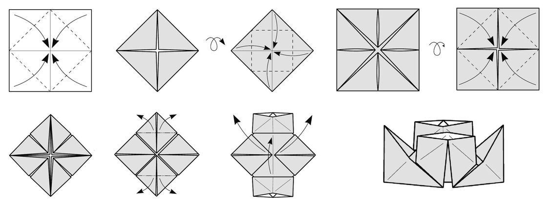 Как сделать из бумаги кораблик, который плавает