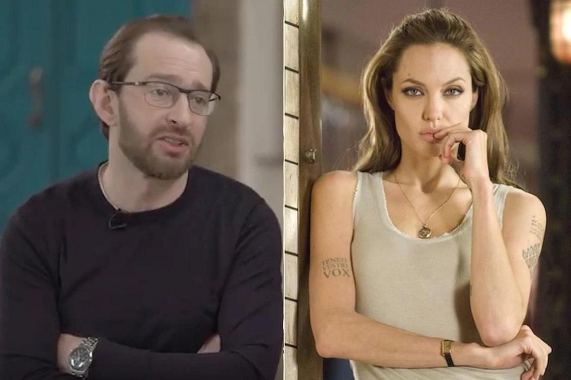 Хабенский рассказал о кровавом поцелуе с Анджелиной Джоли