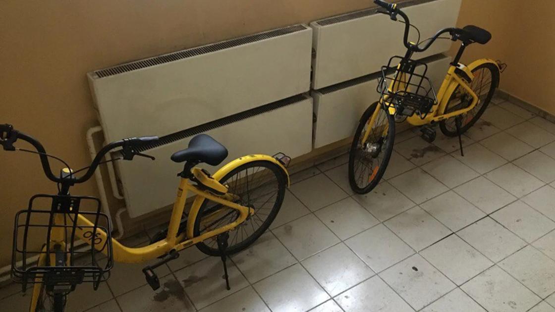 По правилам пользования велосипеды нужно ставить в специально указанные в приложении точки. Оставлять их в недоступных местах запрещено.