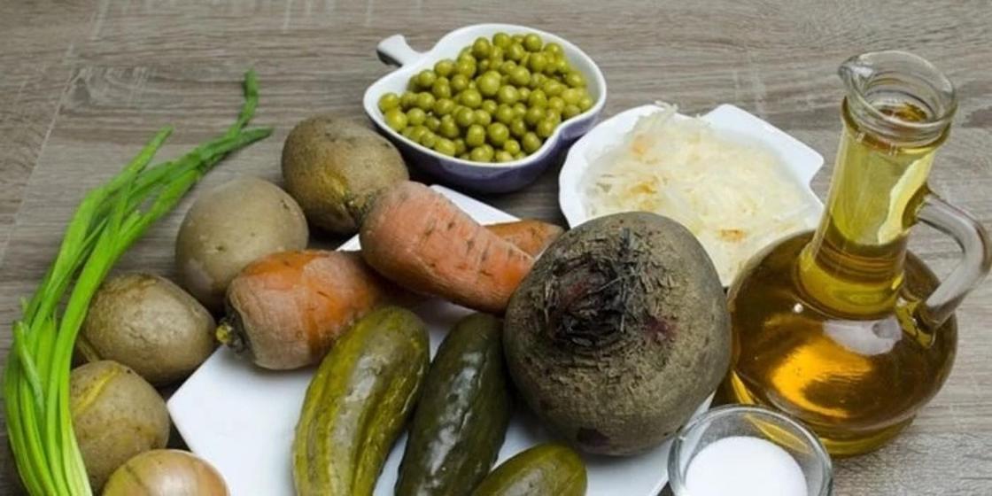 Салат винегрет: рецепт приготовления