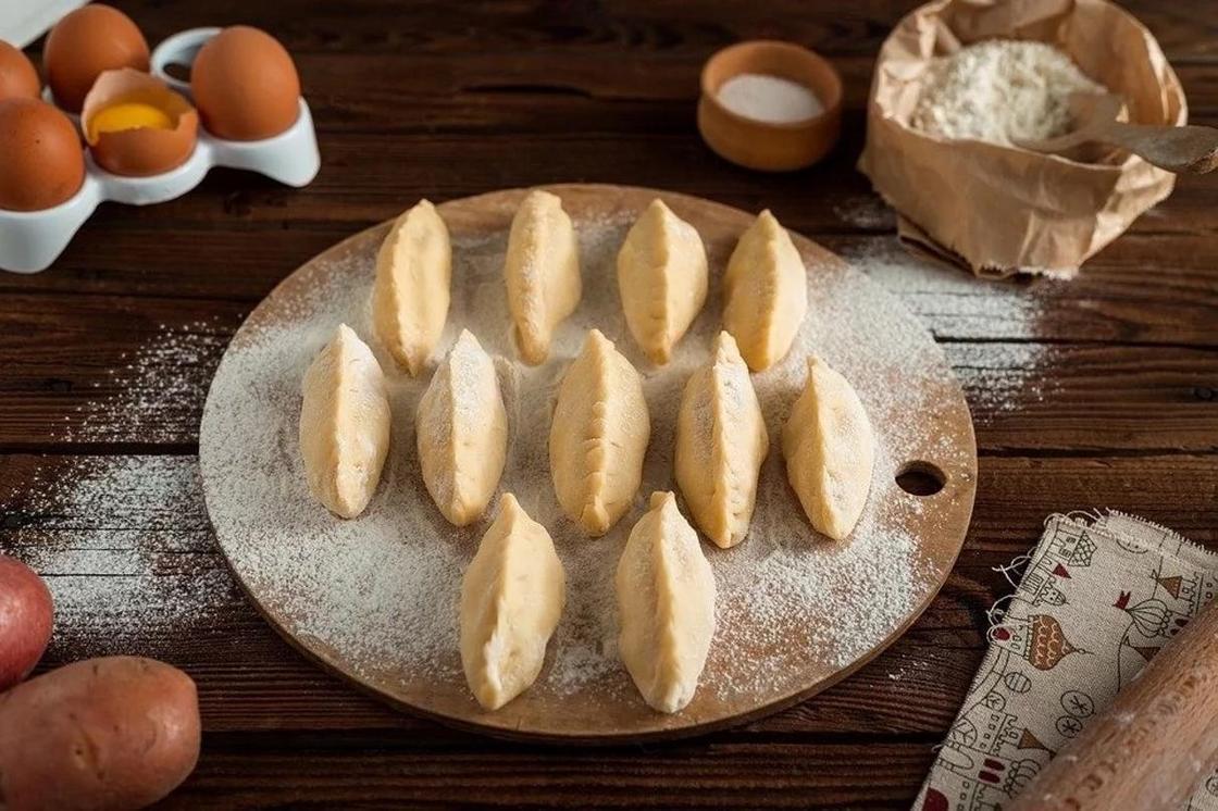 Пирожки в духовке с картошкой: рецепт