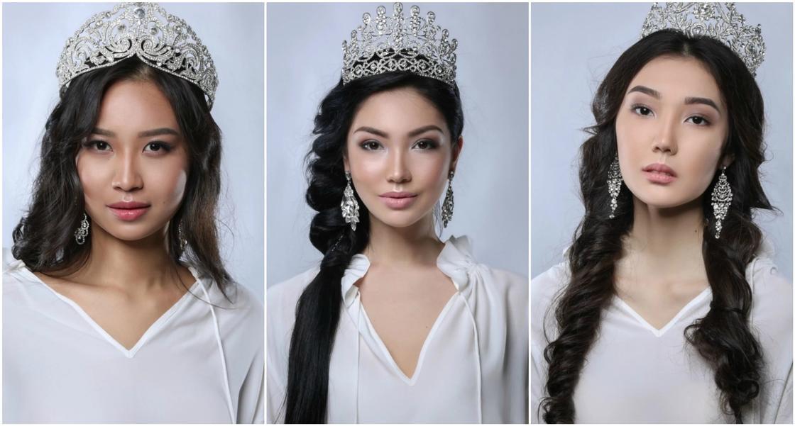 """Началось голосование за участниц конкурса красоты """"Miss Kazakhstan"""""""