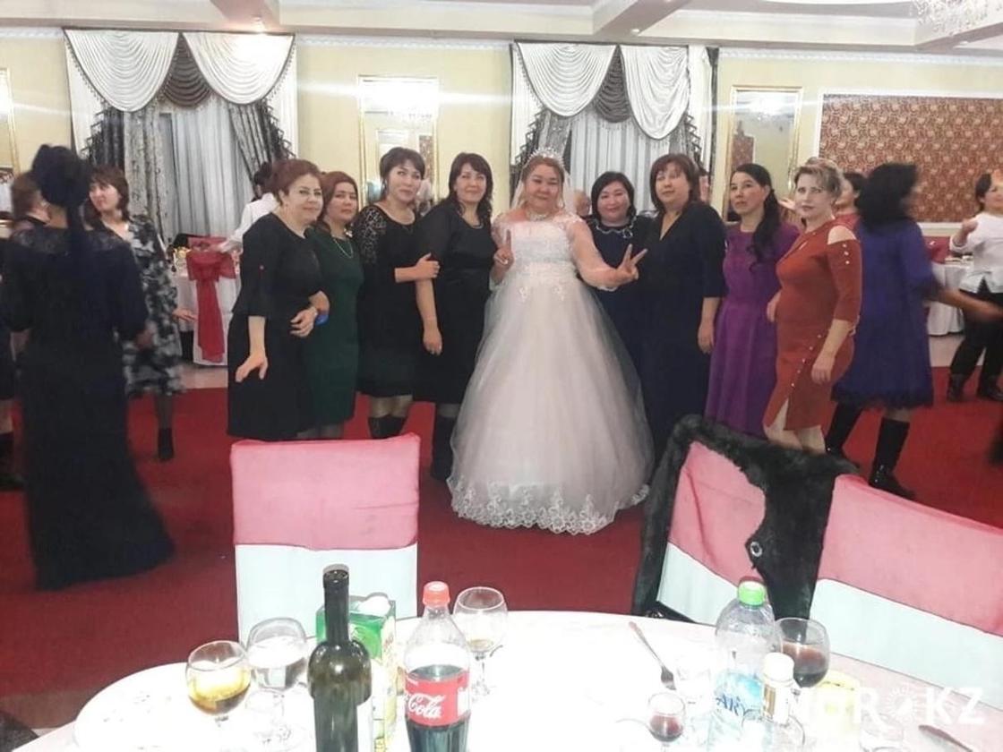 В Туркестанской области прошла необычная свадьба