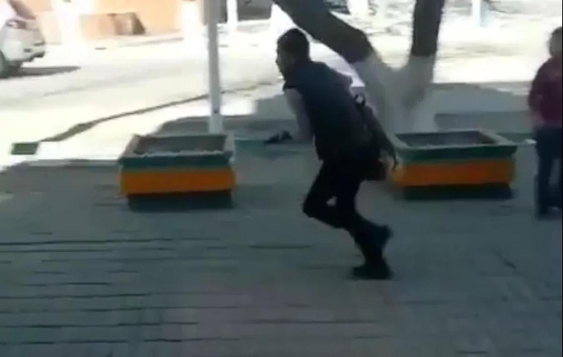 В Кызылорде произошла стрельба (видео)