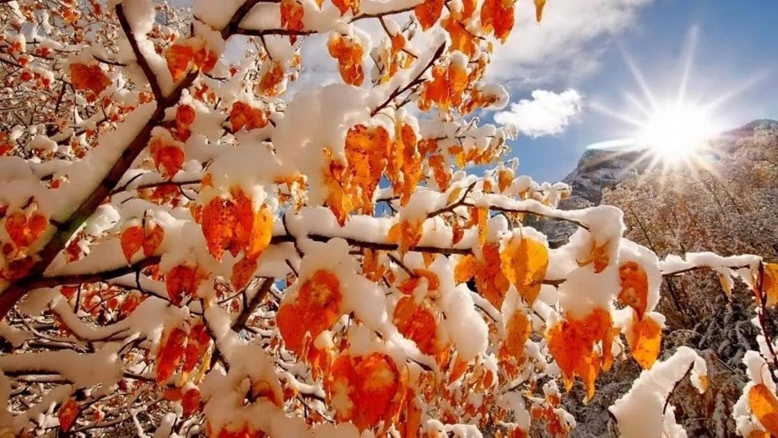 Прогноз погоды на ноябрь: Казахстан ожидает понижение температуры до минус 15