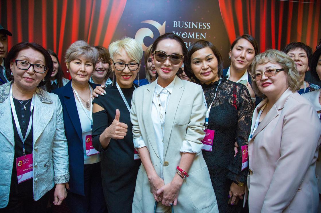 В Алматы прошёл Business Women Forum