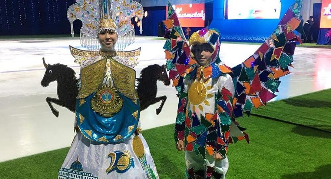"""""""Помогите развидеть"""": в Сети высмеяли костюм алматинки на «Мисс Вселенная»"""
