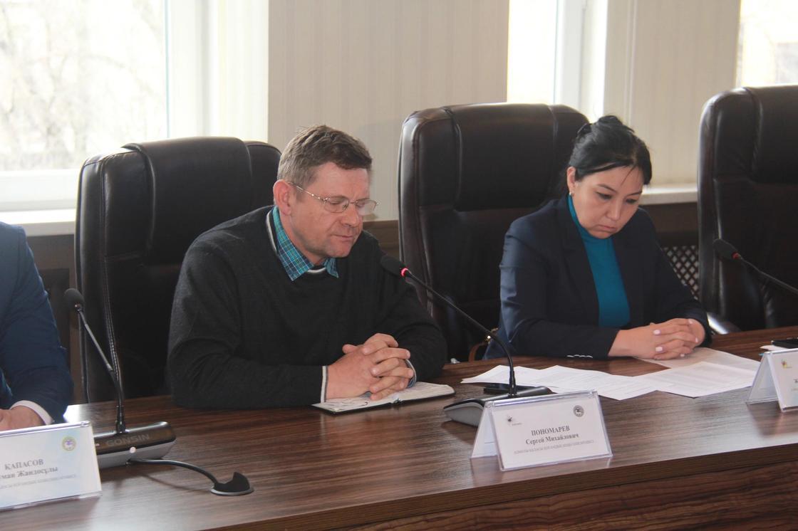 Член Общественного совета Сергей Понамарев