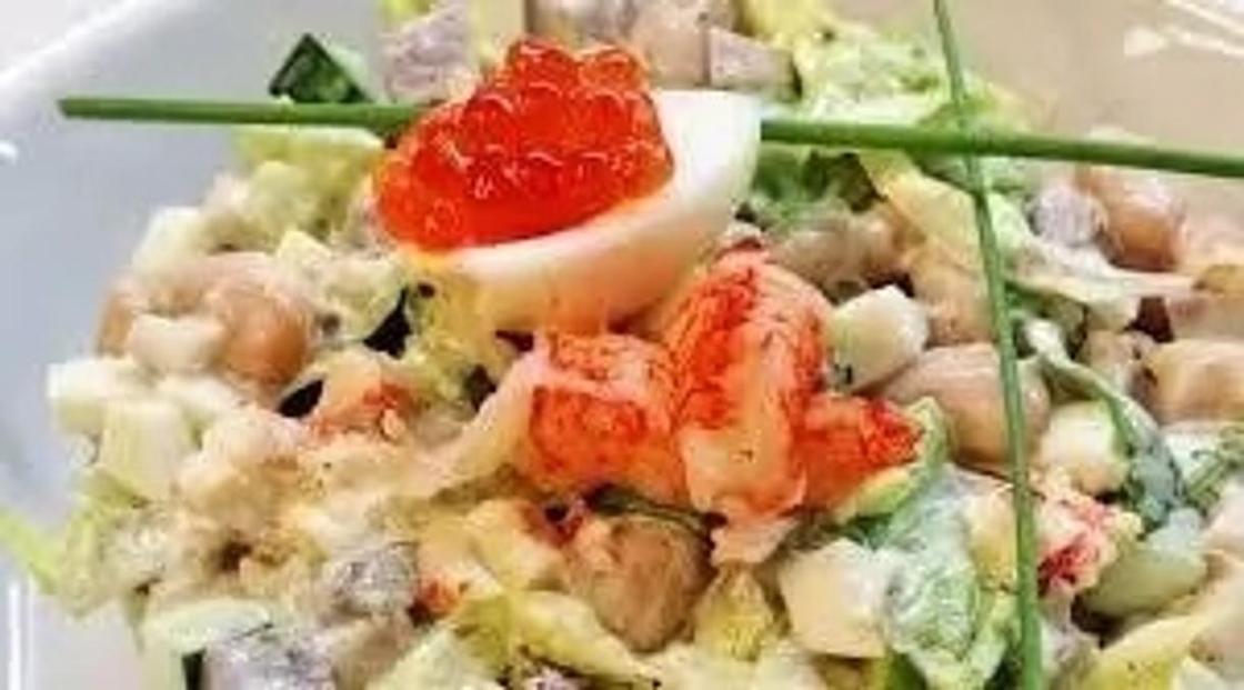 Настоящий салат оливье: классический рецепт