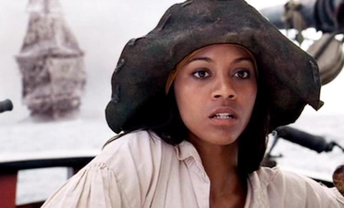Зои Салдана: Пираты Карибского моря