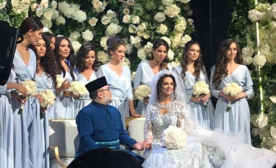 «Мисс Москва» стала женой короля Малайзии (фото, видео)
