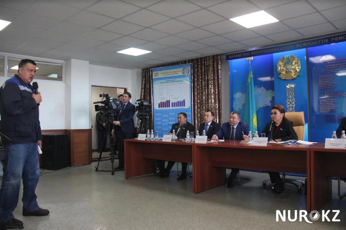 Дарига Назарбаева о зарплате сотрудников ТЭЦ-2: А на что вы живете?