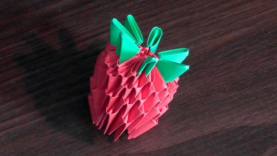 Простое модульное оригами для начинающих