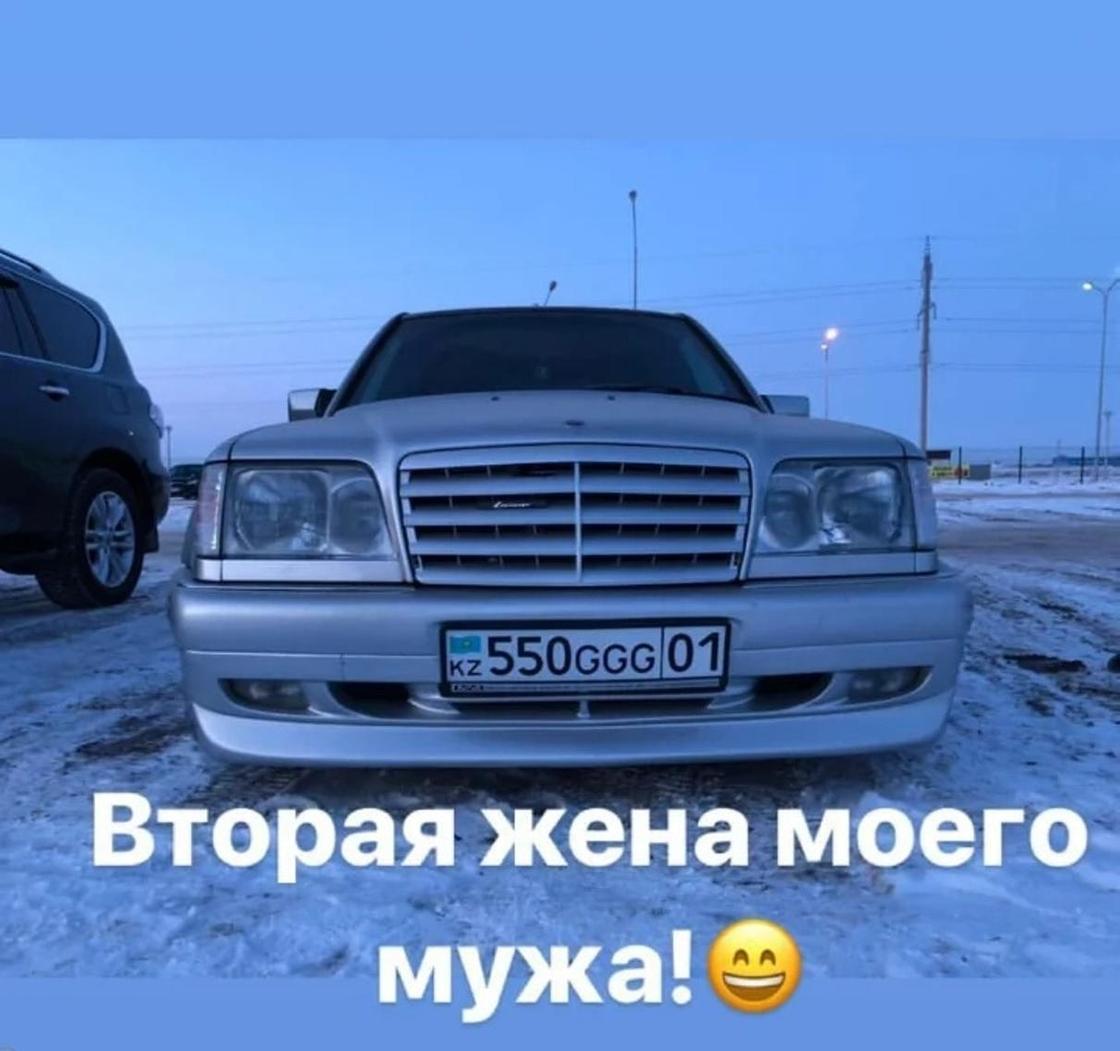 Маржан Арапбаева жолдасының қымбат көлігін көрсетіп мақтанды