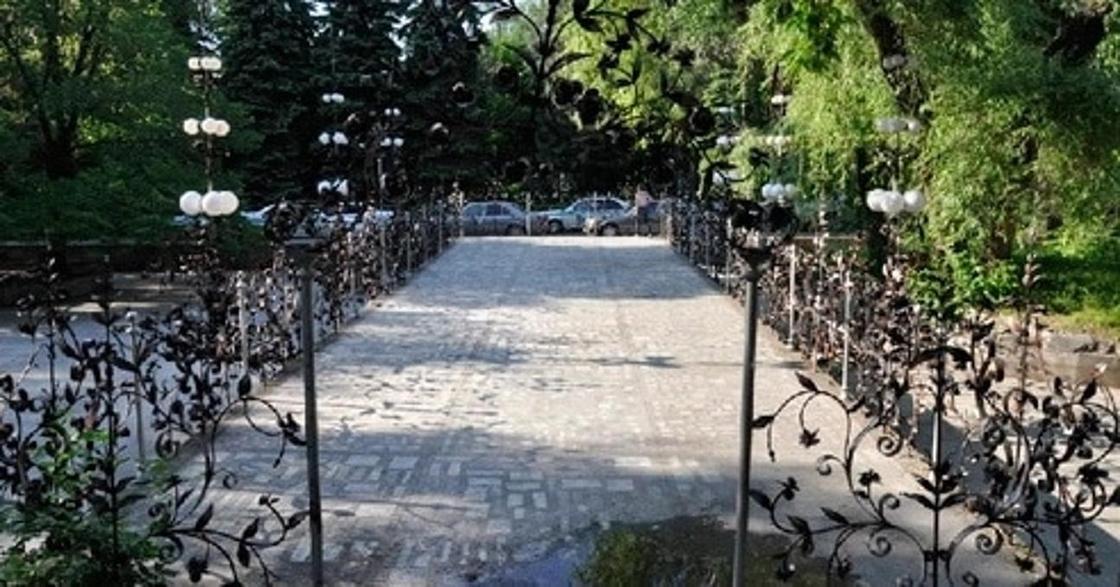 Мост любви Алматы
