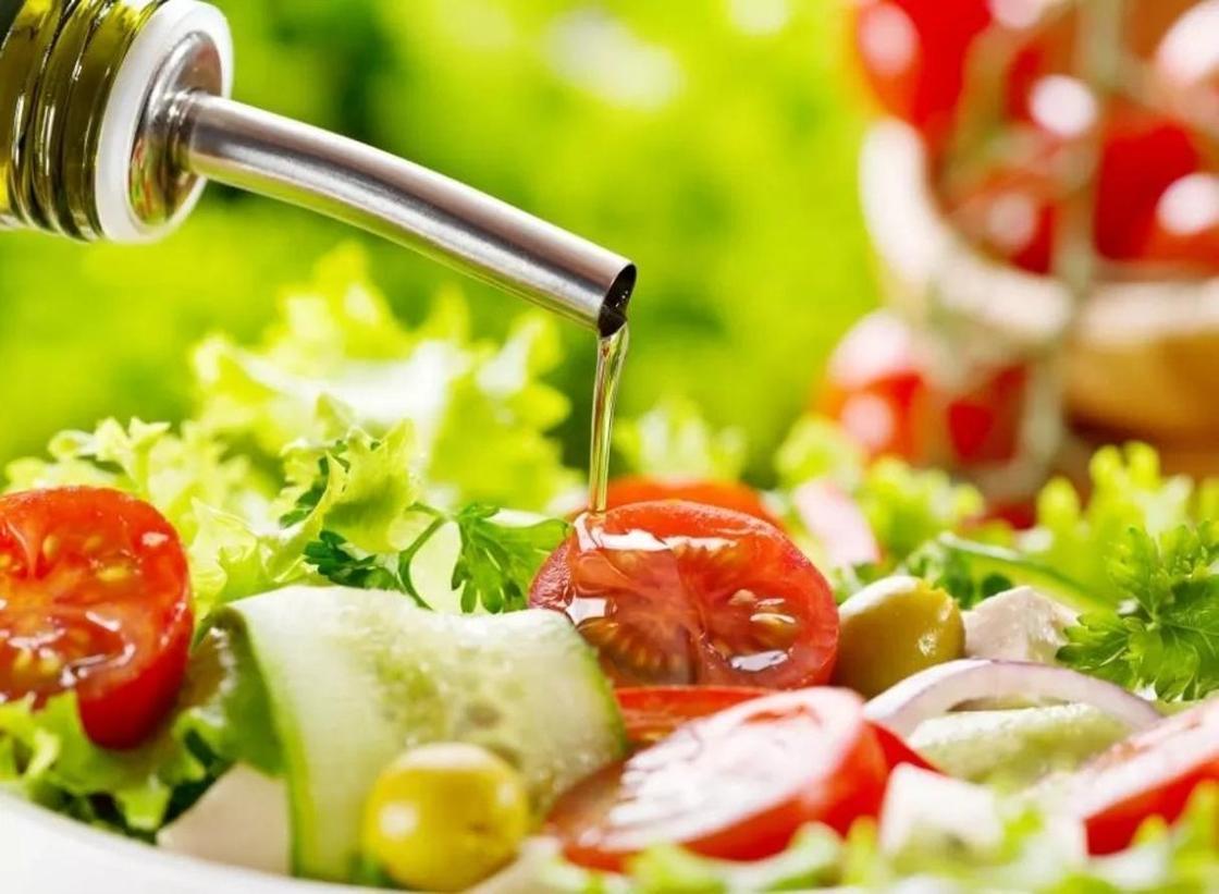 полезные салаты с оливковым маслом