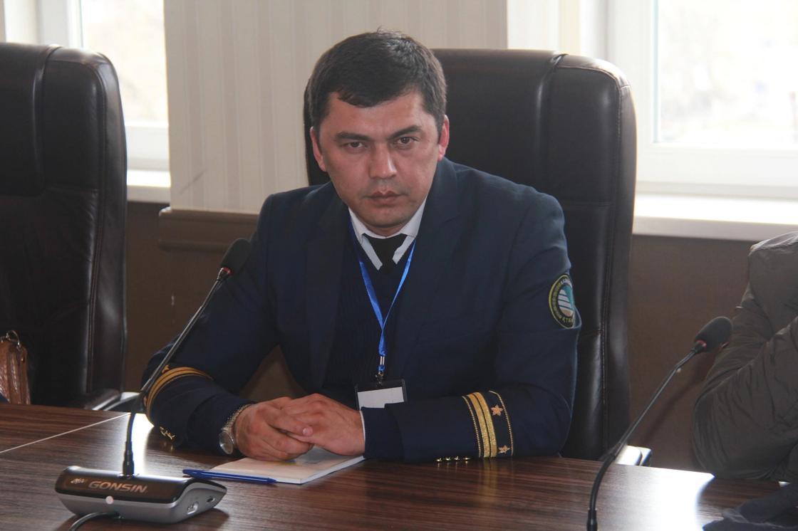 Главный инженер станции Алматы-1 Бекболат Акпанов