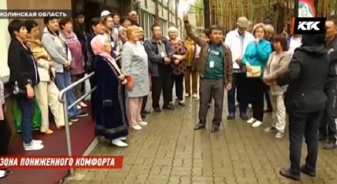 «Все отвратительно!»: получившие долгожданные путевки в Боровое инвалиды сбегают оттуда