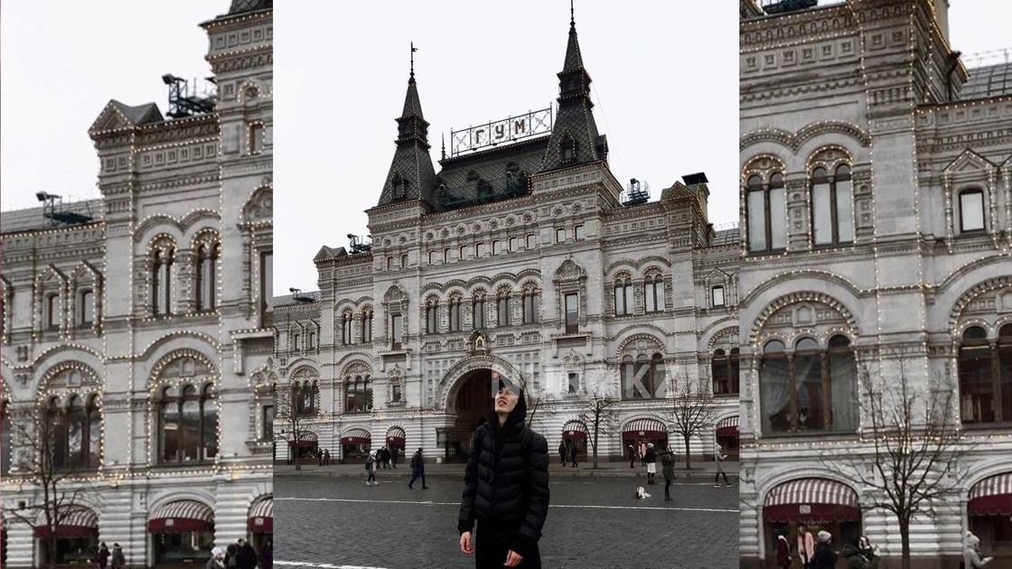 Москва тепло встретила казахстанца