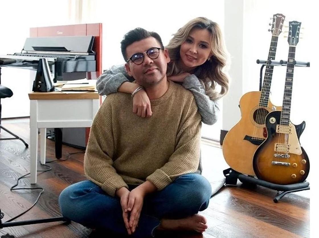 Ренат Гайсин и певица Диная. Фото: Instagram