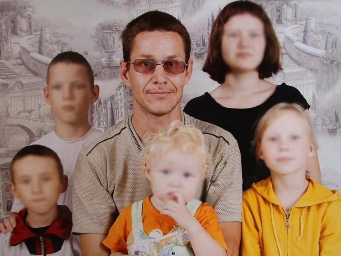 Многодетный отец. Фото: YK-news.kz