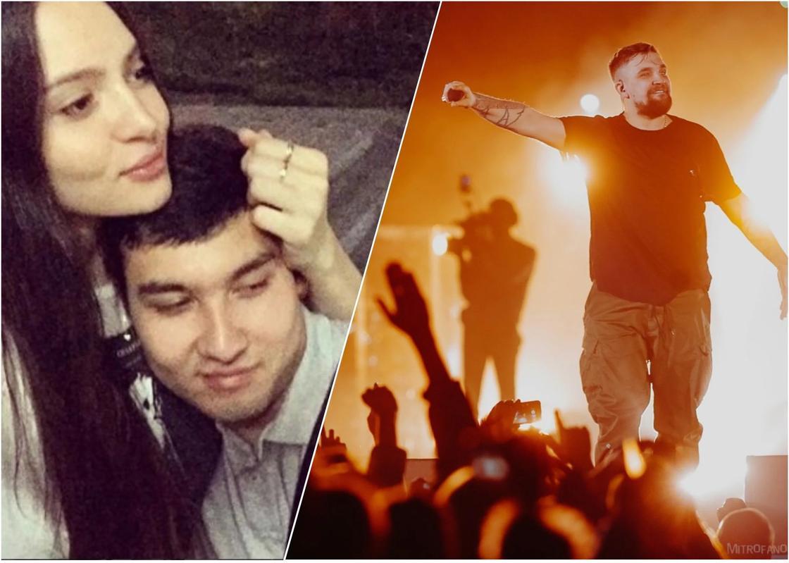 «Выходи за меня»: Алматинец сделал предложение на концерте Басты (видео)
