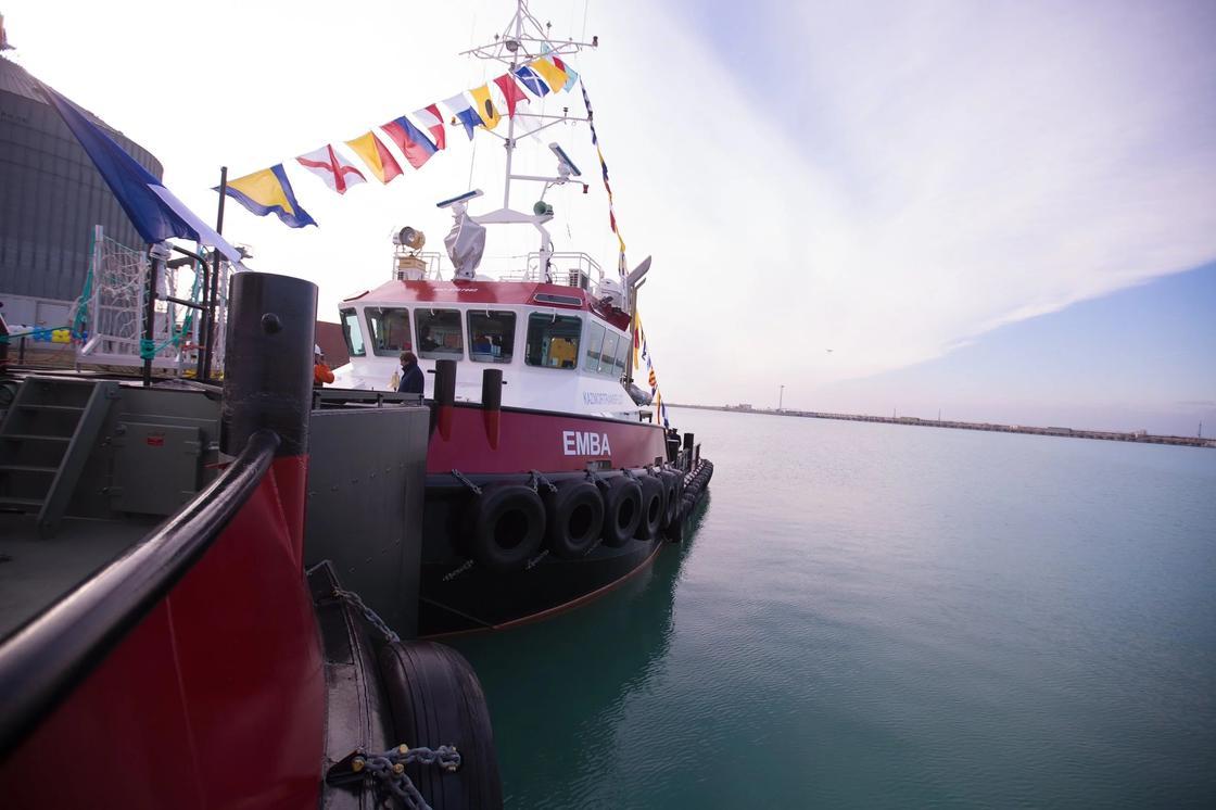 Казахстанский флот пополнится еще одним уникальным судном