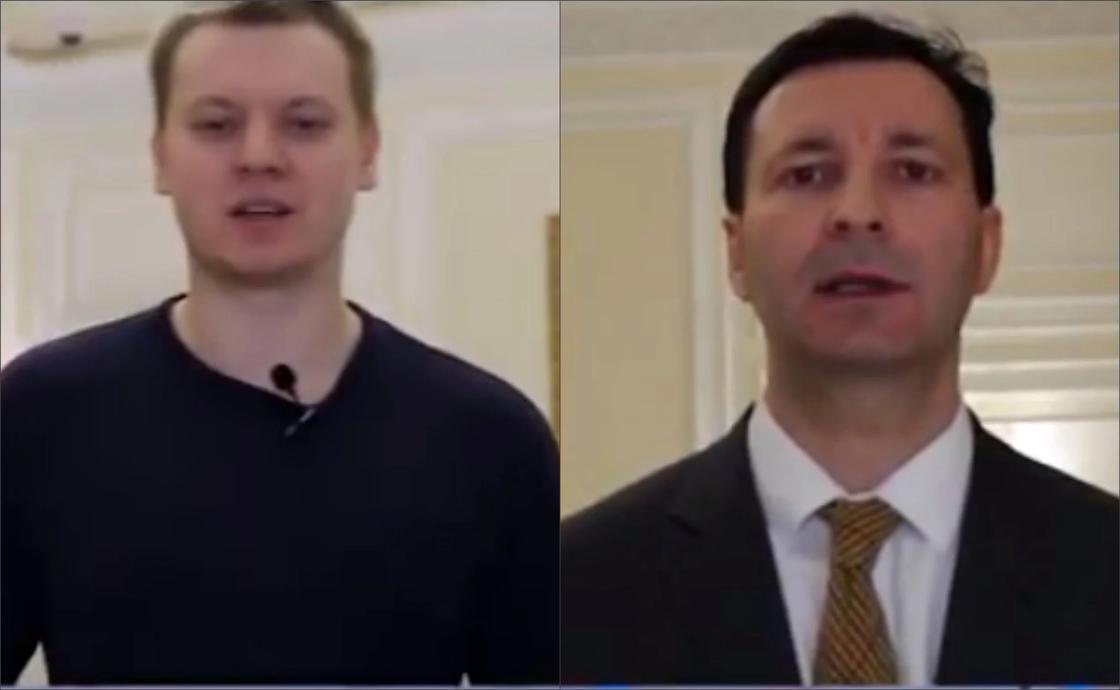 Россияне на казахском языке поздравили казахстанок с 8 Марта (видео)