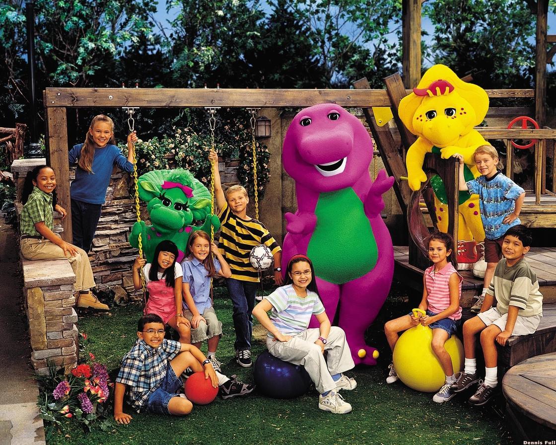 Барни и друзья