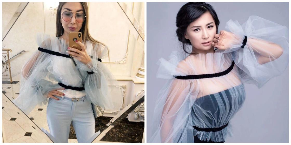 Сиви Махмуди и Мадина Садвакасова купили одинаковые наряды
