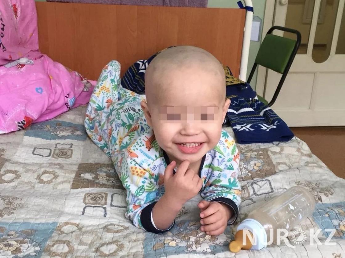 31.03 Двухлетний мальчик не мог сходить в туалет из-за опухоли
