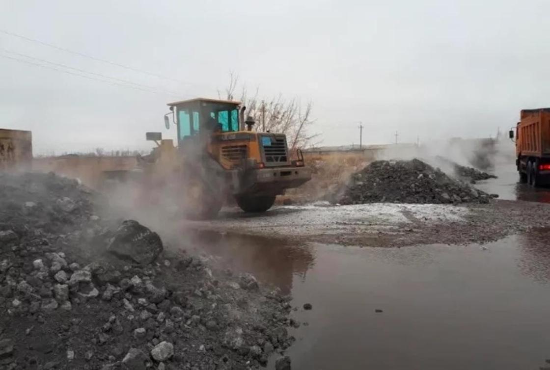 В Карагандинской области начались паводки