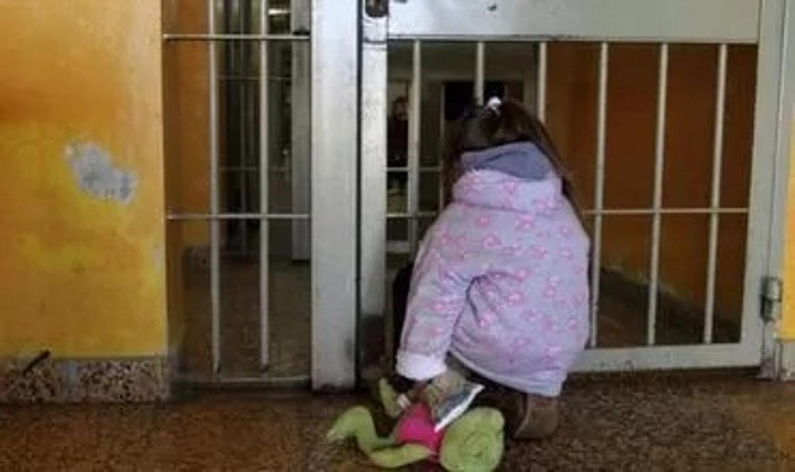 Дети в тюрьме. Фото: point.md