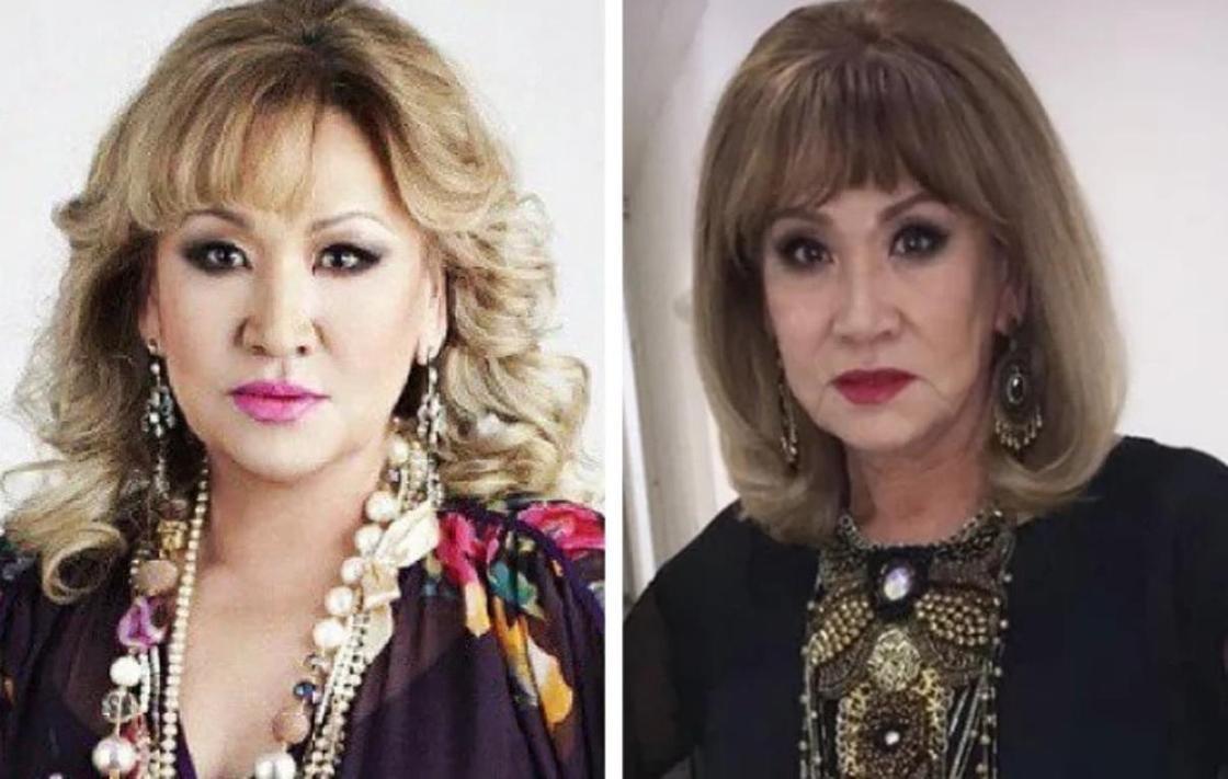 Нагима Ескалиева (до и после похудения). Фото: Instagram