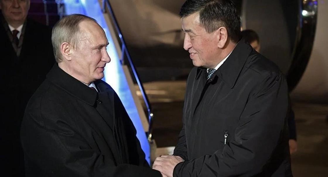 Путин Қырғызстанның 488 млн доллар қарызын кешірді