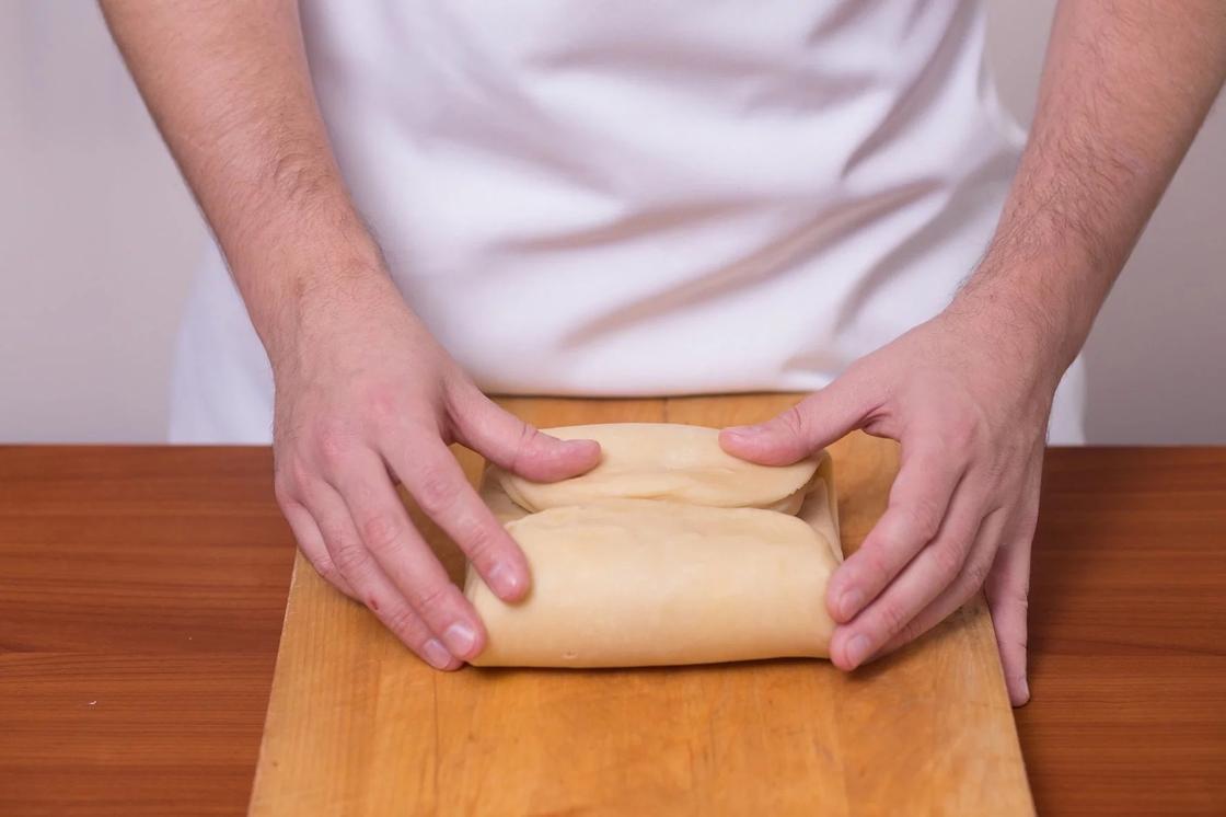 Слоеное тесто для пирога: рецепт