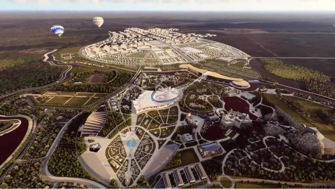 Проект нового парка развлечений представили в Астане (фото, видео)